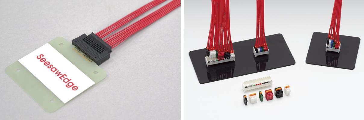 注目製品のSeesawEdgeと、Color Block Connector