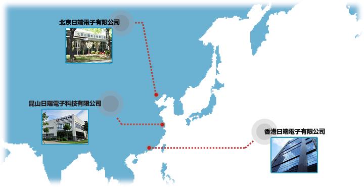 関連会社所在地図